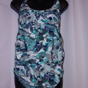 NWT isabel maternity swimsuit. One-piece. Size M.